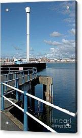 Weymouth Pavillion Pier And Tower Acrylic Print by Baggieoldboy