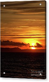 Acrylic Print featuring the photograph Weymouth Sunrise by Baggieoldboy