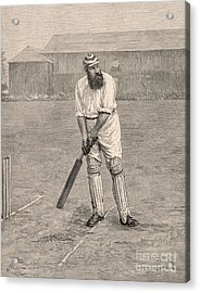 Wg Grace Acrylic Print by English School