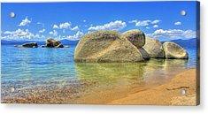 Whale Beach Lake Tahoe Acrylic Print by Brad Scott