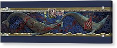 Whale Music Acrylic Print by Martin Tielli