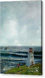 Whale Watch Acrylic Print