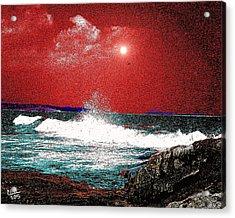 Whaleback At Peaks Island Maine Acrylic Print