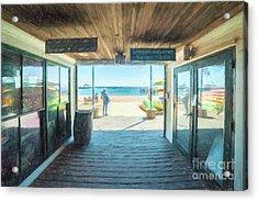 Whaler's Wharf Acrylic Print