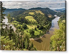 Acrylic Print featuring the photograph Whanganui River Bend by Gary Eason