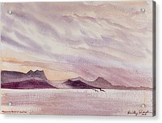 Whangarei Heads At Sunrise, New Zealand Acrylic Print