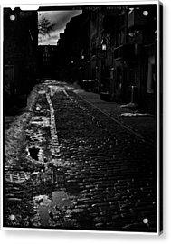 Wharf Street Acrylic Print by Filipe N Marques
