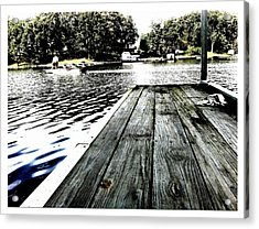 What A Way To Live Acrylic Print by John McGarity