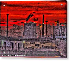 Port Of Savannah Acrylic Print