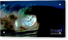 What Is It Fantasy Fusion Accidental Discovery Art  Psychedelic Acrylic Print by Navin Joshi