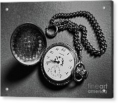 What Is The Time? Acrylic Print by Jasna Dragun