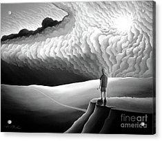 What Lies Ahead Acrylic Print