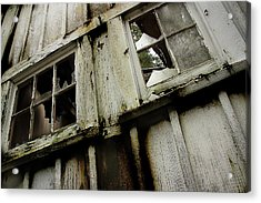 Acrylic Print featuring the photograph What Lies Within by Mike Eingle
