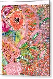 What Makes You Happy II Acrylic Print by Anne-Elizabeth Whiteway