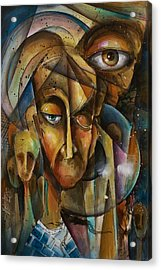 What Acrylic Print by Michael Lang
