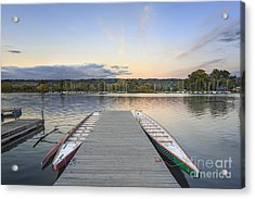 What Remains Of The Day Acrylic Print by Evelina Kremsdorf