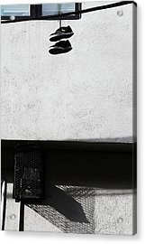 Acrylic Print featuring the photograph What That For Me  by Empty Wall