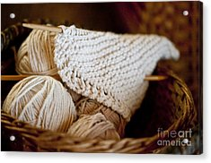 What Will It Be Acrylic Print by Wilma  Birdwell