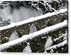 Whatcom Falls Winter 08 2 Acrylic Print