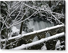 Whatcom Falls Winter 08 Acrylic Print