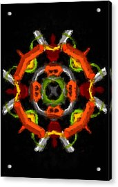 Acrylic Print featuring the digital art Whatever by Shelley Bain