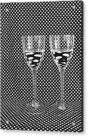 What's In My Drink? Acrylic Print by Anna Villarreal Garbis