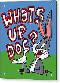 Whats Up Doc Acrylic Print by Ian  King