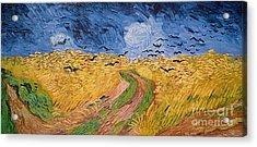 Wheatfield With Crows Acrylic Print