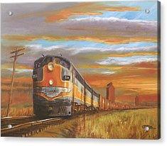 Wheat....from North Dakota Acrylic Print by Christopher Jenkins
