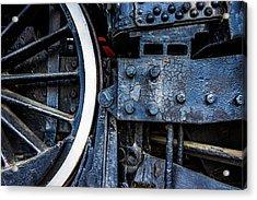 Wheel In Black II Acrylic Print by Jae Mishra