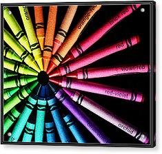 Wheel Of Color Acrylic Print by Judi Quelland