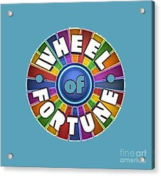 Wheel Of Fortune T-shirt Acrylic Print
