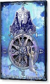 Wheel Of Fortune Acrylic Print by Tammy Wetzel