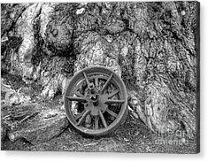 Wheel Of Time Acrylic Print by Elaine Teague