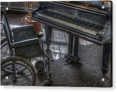 Wheel Piano Acrylic Print