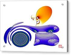 Wheeler Acrylic Print