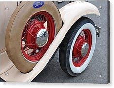 Wheels Acrylic Print by Lynn Bawden