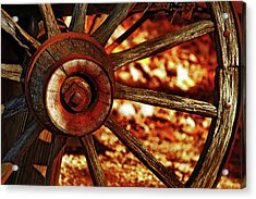 Wheels Of Time Acrylic Print