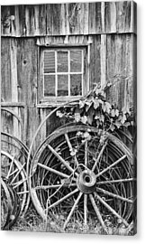 Wheels Wheels And More Wheels Acrylic Print