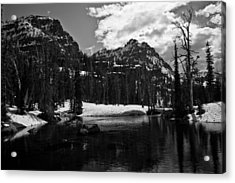 Whelp Lake, Mission Mountains Acrylic Print