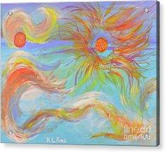 When A Star Is Born Acrylic Print by Robyn King