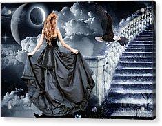Stairway To Heaven Acrylic Print by Brenda Rich