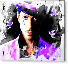 When Doves Cry Acrylic Print