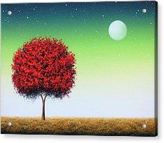 When Follows The Night Acrylic Print by Rachel Bingaman