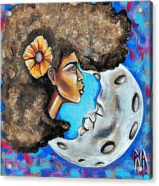 When He Gave You The Moon Acrylic Print