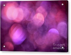 Acrylic Print featuring the photograph When I Close My Eyes by Jan Bickerton