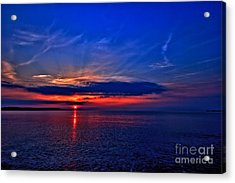 Acrylic Print featuring the photograph When I'm Feeling Blue by Baggieoldboy