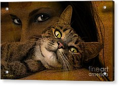 When I'm Too Tired To Walk Acrylic Print