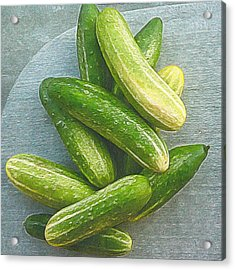 When Life Brings You Cucumbers Acrylic Print