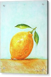 When Life Gives You Lemons Acrylic Print